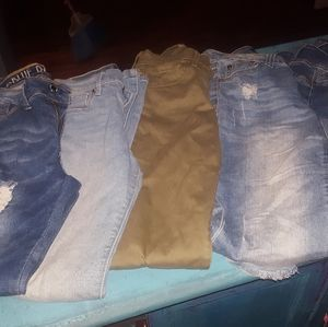 5 Pairs of Jeans Size 1 Great Condition